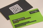 QR card on business cards